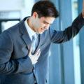 вибрации в области груди