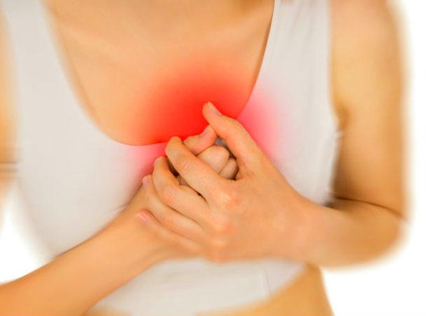 Жжение в области сердца