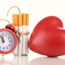 действие курения на сердце