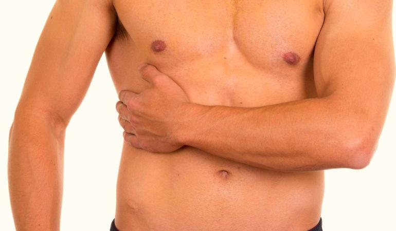 боль в грудине справа