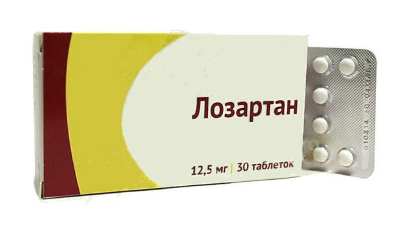 таблетки лозартан