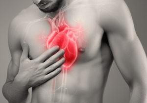 болит сердце после удара в грудь фото
